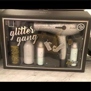 Glitter gang kit from Drybar